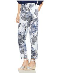 Vince Camuto - Etched Island Floral Straight-leg Trousers - Lyst