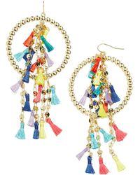 BaubleBar - Curacao Tasseled Drop Earrings - Lyst