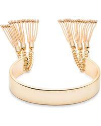 Trina Turk - Chain Fringe Cuff Bracelet - Lyst
