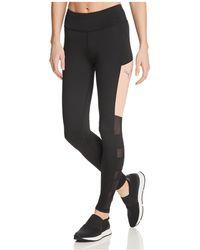 PUMA - Sharp Shape Mesh-inset Leggings - Lyst
