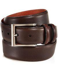 Trafalgar - Corvino Double-keeper Leather Belt - Lyst