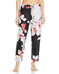 Natori - Cattleya Floral-print Lounge Trousers - Lyst