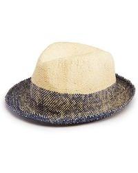 67d211ce3465f Paul Smith Two-tone Bucket Hat in Blue for Men - Lyst
