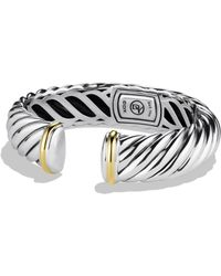 David Yurman - Waverly Bracelet With Gold - Lyst