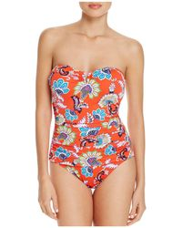 Tommy Bahama - Fira V Wire Bandeau One Piece Swimsuit - Lyst