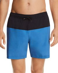 Theory - Cosmos Color-block Stretch Swim Trunks - Lyst