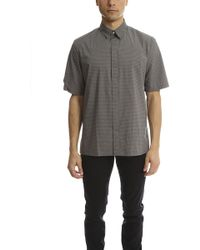 7da26605 Lyst - Rag & Bone Check-print Shirt in Natural for Men
