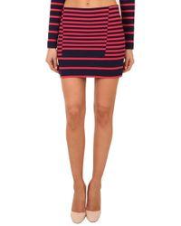 Thakoon - Addition Striped Mini Skirt - Lyst