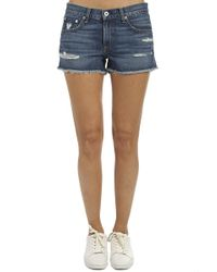 Rag & Bone - Cut Off Shorts - Lyst