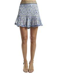 Poupette - Pippa Mini Skirt - Lyst