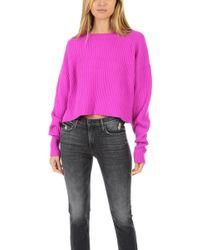 RE/DONE - Cashmere Crop Sweater - Lyst