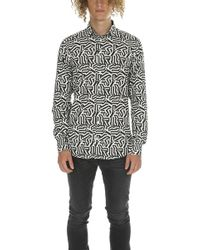 Richard James - Dazzle Combo Shirt - Lyst