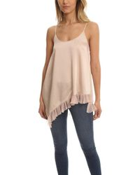 acbe05b9a240aa Elizabeth and James - Angela Top Pink - Lyst