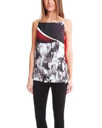 Clover Canyon - Forbidden Forest Draped Camisole - - Lyst