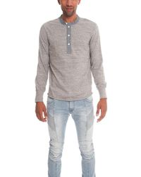 Todd Snyder - Classic Henley Ls - Lyst
