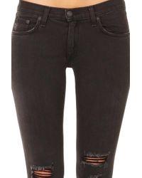 9dc852c91d26 Rag   Bone High Rise Skinny Jeans In Ward in Blue - Lyst