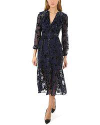 Saloni - Ginny Short Dress - Lyst