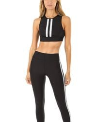 d55ae78fe63b2 Ultracor Level Bee Performance Crop Top in Black - Lyst