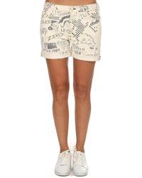 Mother - The Vagabond Cuff Shorts - Lyst