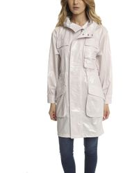 ATM - Atm Coated Parka - Lyst
