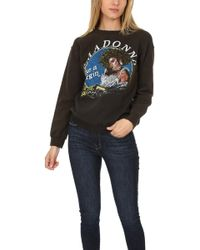 Madeworn Rock - Madeworn Madonna Like A Virgin Fleece Sweatshirt - Lyst
