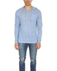 Blue & Cream - Pullover Hoody - Lyst