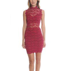 Nightcap - Dixie Lace Cutout Dress - Lyst