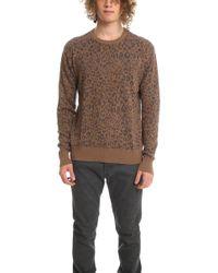 Robert Geller - Leopard Jacquard Sweater - Lyst