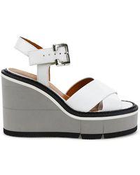 Clergerie - Alive Wedge Sandals - Lyst