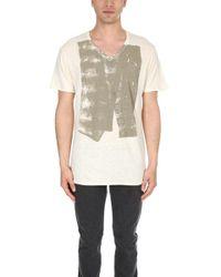 Rogan - Paint Roll T Shirt - Lyst