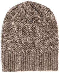 Blue&Cream   Hat W/ Micro Criss Cross Stitch   Lyst