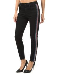 Mother - High Waisted Looker Ankle Fray Jean - Lyst