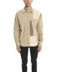 Longjourney - Patchwork Dress Shirt - Lyst