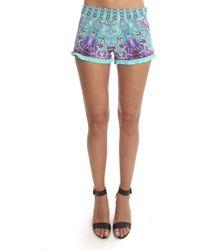 Camilla - Frill Hem Shorts - Lyst