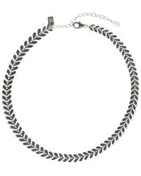 Electric Picks - Straight Edge Choker - - Lyst