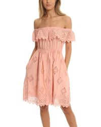 Sea - Daniella Ruffle Dress - Lyst