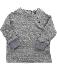 Blue & Cream - Future Fresh Double Face Henley - Lyst