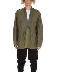 Maharishi - Upcycled Dutch Nato Kimono - Lyst