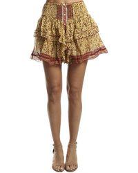 Poupette - Honey Mini Skirt - Lyst
