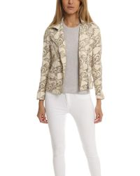 Giorgio Brato - Asym Lace Leather Jacket - Lyst