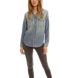 Mother - Ex Frenchie Button Down - Lyst