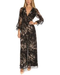 8f0bd5f8f640 Zimmermann - Maples Feathery Jumpsuit Flo - Lyst