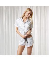 Bluebella | Knox Shirt And Short Set | Lyst