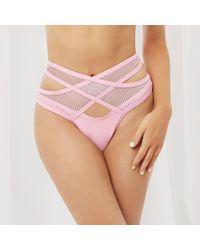 Bluebella - Levantine Bikini Bottom Pink - Lyst