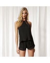 Lyst - Bluebella Anais Cami And Shorts Set in Black b1ecc3859