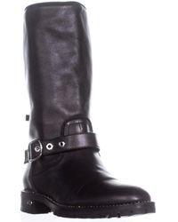 Dior - Rebelle Mid-calf Side Buckle Booties, Black - Lyst
