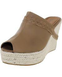 BEARPAW - Women's Jasmine Camel Ankle-high Pleather Sandal - 9.5m - Lyst