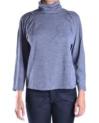 See By Chloé - Women's Grey Viscose Jumper - Lyst