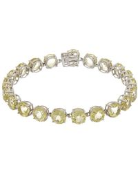 Effy - Fine Jewelry 14k 22.05 Ct. Tw. Lemon Quartz Bracelet - Lyst
