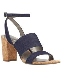 Bandolino - Women's Anchor Ankle Strap Block Heel Sandal - Lyst
